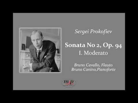 Bruno Cavallo  Prokofiev, Sonata n 2 Op  94   I Tempo, Moderato
