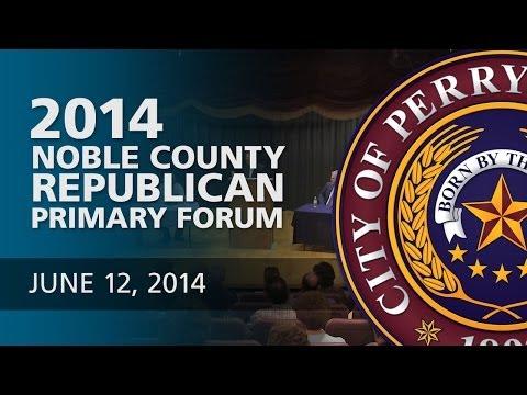 Noble County Republican Primary Forum