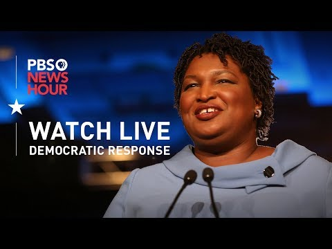 WATCH: Stacey Abrams delivers Democratic response to Trump's State of the Union
