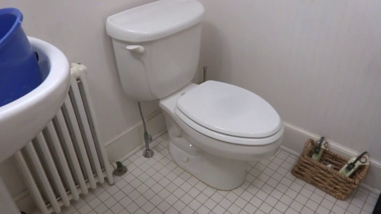 Toilet Leaking Water From Tank Onto Floor You