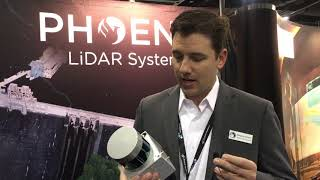 Phoenix LiDAR CEO Introduces Scout Ultra LiDAR System at AUVSI Xponential in Denver