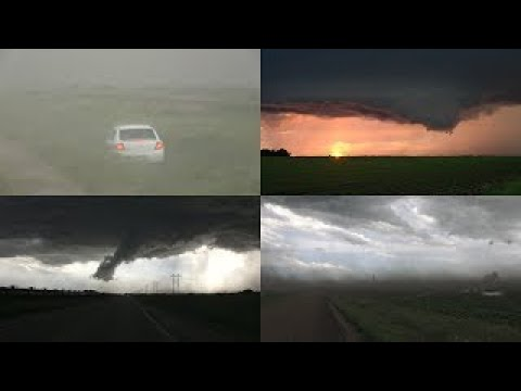 Otter Tail County Tornado Warned Storm 6/21/2017