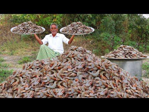 Garlic Shrimp Recipe | Yummy American Garlic Prawns Fry | Quick & Easy Garlic Shrimp Fry By grandpa