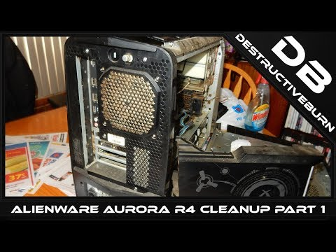 Alienware Aurora R4 Part 1 Cleanup - YouTube