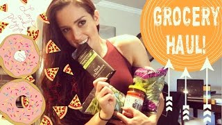 GROCERY HAUL! Bikini Prep Food & DONUTS!// IIFYM Rules Macros!