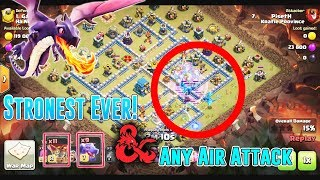 STRONGEST EVER!! E-DRAG LOON CLONE+DRAG & ANY AIR ATTACK STRATEGY TH12 ( Clash of Clans )