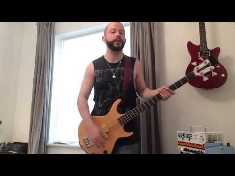 Kramer XKB-20 aluminium neck vintage bass guitar review