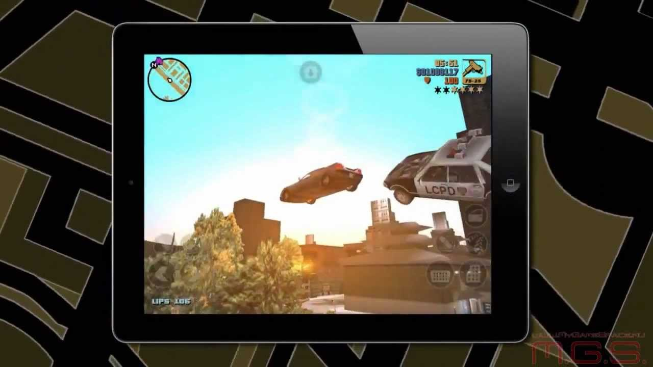 Grand Theft Auto 3 - u0422u0440u0435u0439u043bu0435u0440 (iOS, Android)