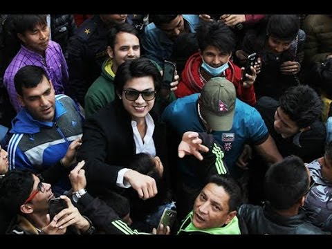 New Nepali Movie 'Dreams' Anmol Kc On Cinema's With Police Force And BodyGuard