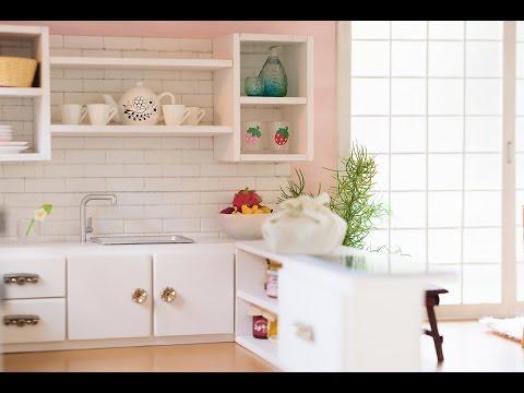 DIY Miniature Kitchen Tutorial - For dolls, Nendoroid, LPS