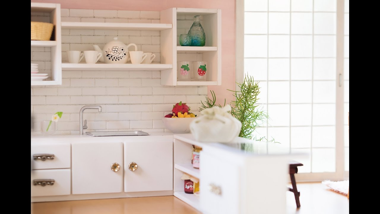 Kitchen Miniature Teak Chairs Diy Tutorial For Dolls Nendoroid Lps Youtube