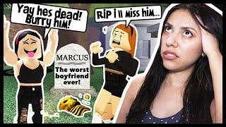 MON MEILLEUR FRIEND HAD A FUNERAL FOR HER DEAD BOYFRIEND! - Roblox Roleplay