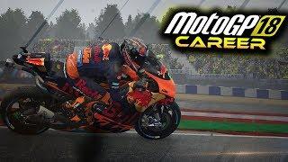 MotoGP 18 Career Mode Part 25 - FIRST WIN?? (MotoGP 2018 Game Career Mode Gameplay PS4 / PC)
