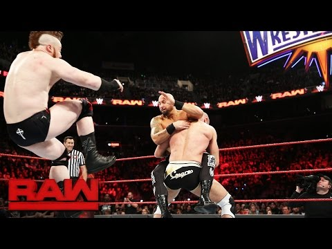 Cesaro & Sheamus vs. Luke Gallows, Karl Anderson, Enzo Amore & Big Cass: Raw, March 20, 2017