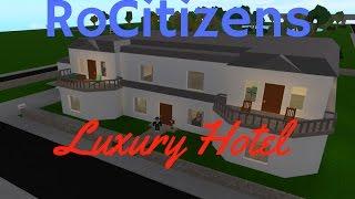Running a HOTEL in Roblox! RoCitizens 5 Star Hotel!