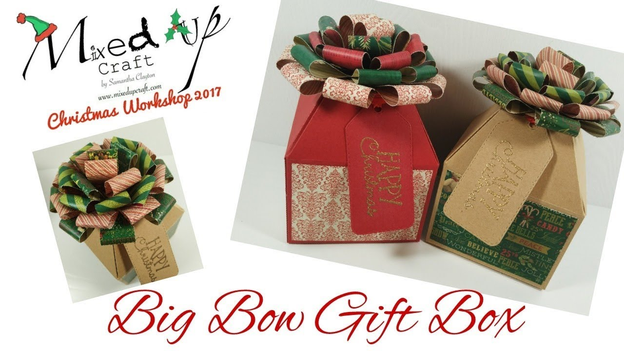 Big christmas gift box
