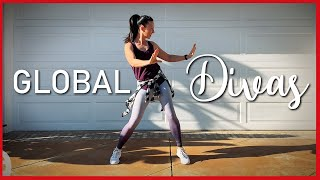 Global Divas - DJ Dani Acosta || Zumba Gold Warm up || DanceFit University