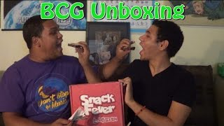 bcg unboxing snack fever korean treats
