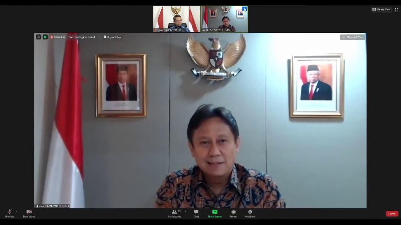 LIVE: Keterangan Pers Ketua Satgas Pemulihan Ekonomi Nasional, 30 September 2020