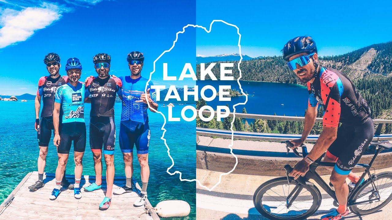 Cycling around Lake Tahoe for the FIRST TIME