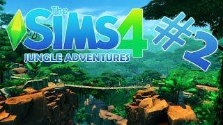 We found the treasure!:The Sims 4 Jungle Adventure E2