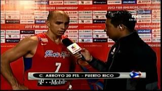 TVes - Premundial de Baloncesto - Carlos Arroyo Puerto Rico