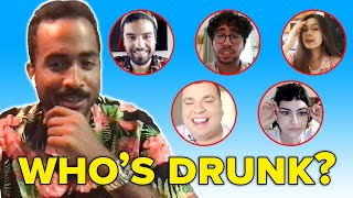 Bartender Guesses Who's Drunk Out Of A Lineup | At Home Edition