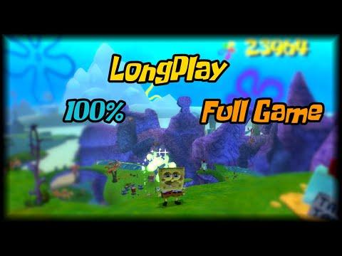 SpongeBob SquarePants: Battle For Bikini Bottom - Longplay 100% (Xbox) Walkthrough (No Commentary)