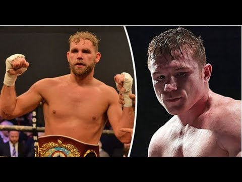 Billy Joe Saunders not worrying about Canelo Alvarez fight and ...