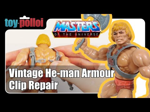 Fix it guide - He-Man armour clip repair guide - Toy Polloi
