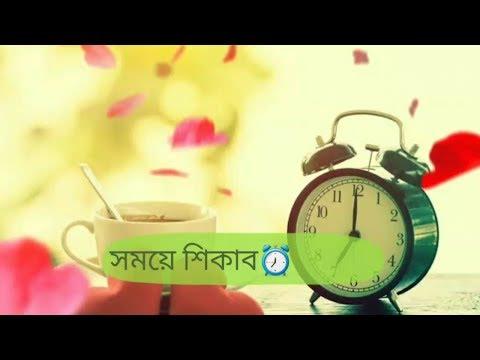 Love Sad Song💔😔| সময়ে শিকাব⏰ সময়ে বোজাব⏰| for Whatsapp Video