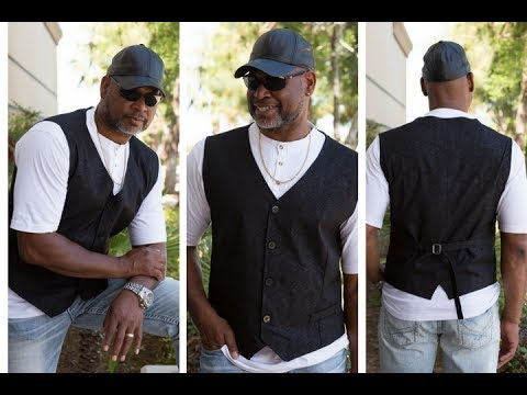 How to Sew a Men's Vest (Part 1)