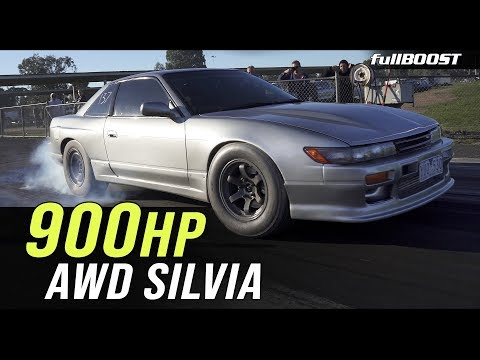 AWD Silvia 1/4 mile test | fullBOOST