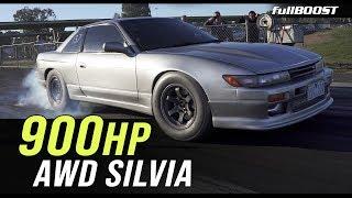AWD Silvia 1/4 mile test | fullBOOST