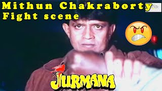Mithun Chakraborty fight scene || Jurmana || Hindi Action Drama Movie
