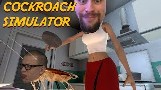 COCKROACH SIMULATOR | Tant Whippit försöker krossa kackerlackan figgehn
