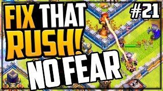 CAN'T LOSE! Gem, MAX, Fix That Rush Clash of Clans Episode 21