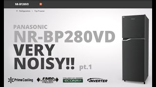 Brand New Panasonic NR-BP280VD - High Pitched Noise pt. 1