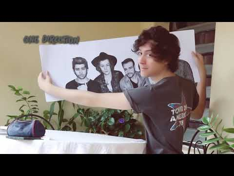 Drawing One Direction Album Four