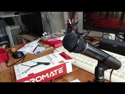 Мікрофон Promate Tweeter-9 Mini-jack 3.5 мм Black (tweeter-9.black)