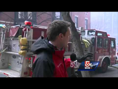 Firefighters injured in massive Back Bay fire