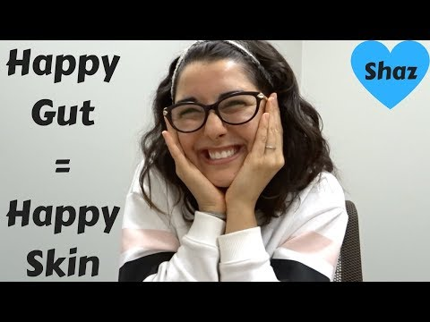 How to cure your acne naturally FOREVER - HEAL THE GUT!!!!