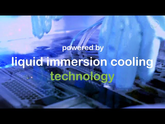 PeaSoup Eco Cloud embracing liquid immersion cooling technology