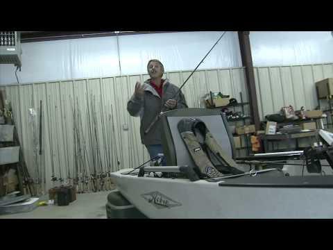 Fishing Tips With Hank Parker.  Hobie Pro Angler