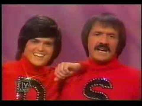 Silly love songs Sonny and Cher Donny and Marie 1976