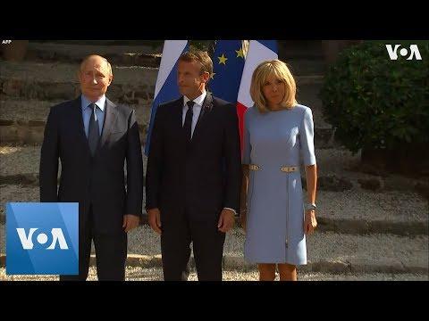 France's President Macron