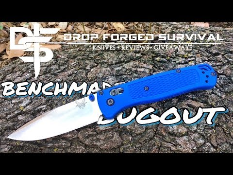 Benchmade 535 Bugout HARD USE TESTED! | Knife Review 1.85 oz