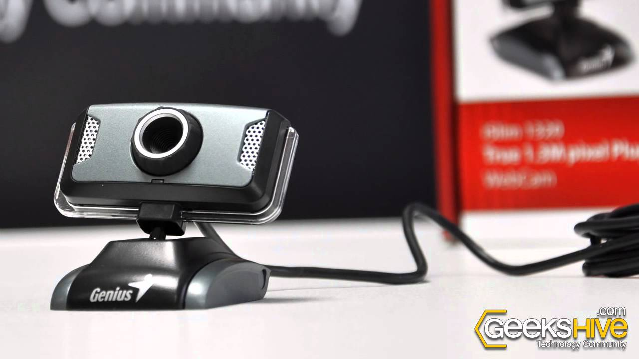 Genius Look 1320 Webcam Update