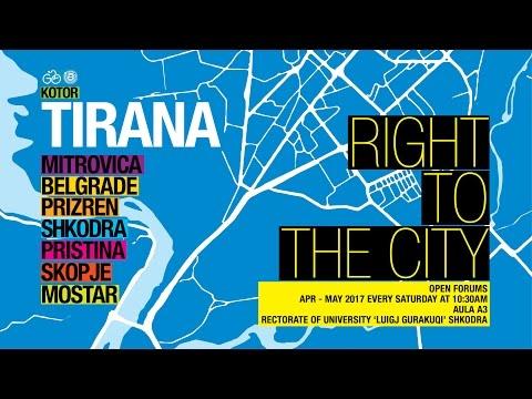 FATOS LUBONJA - RIGHT TO THE CITY ALBANIA 2: TIRANA