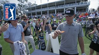 Caddie takes on One Chip Challenge at 17 | THE PLAYERS 2019